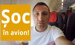 Șoc în avion!