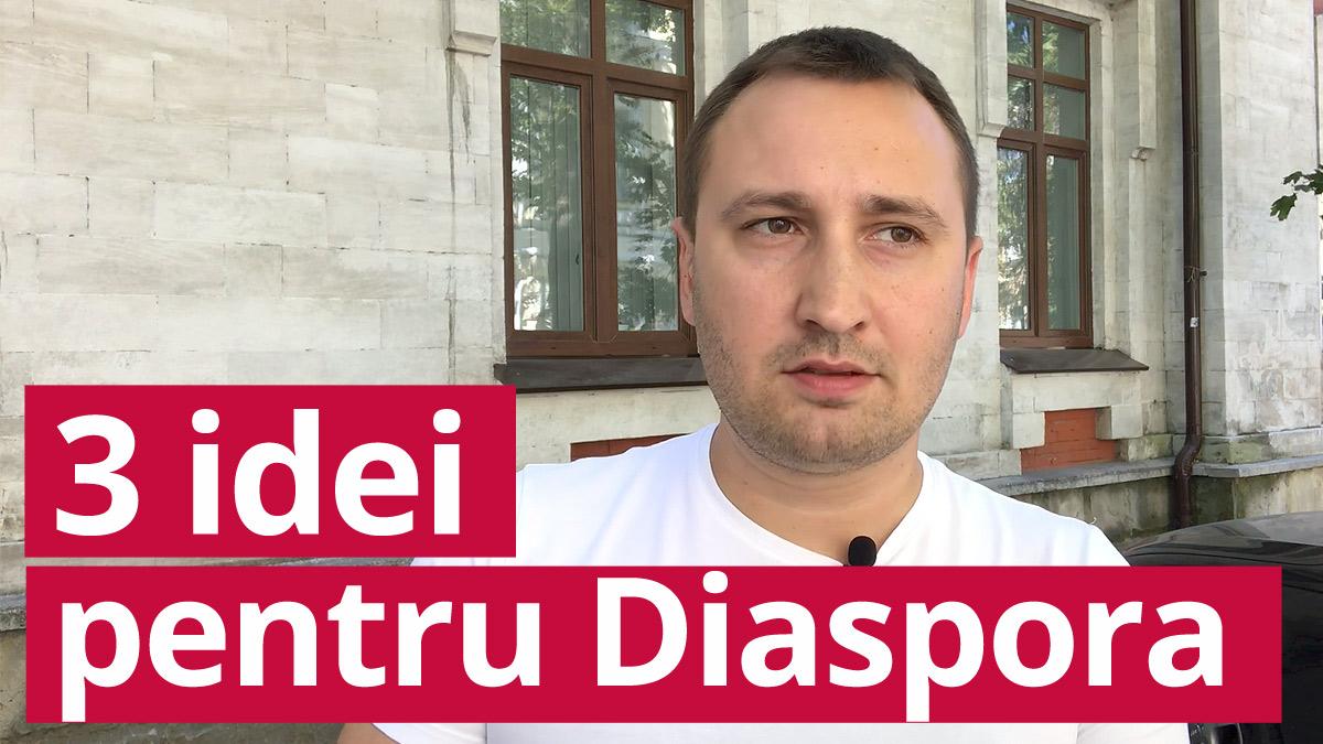 (video) 3 idei: Ce ar putea face Diaspora pentru Moldova