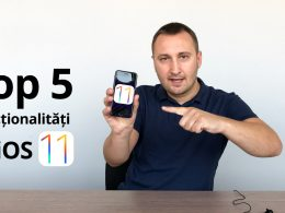 (video) TOP 5 funcționalități în iOS 11