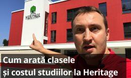 (video) Școala Heritage: Cum arată clasele și ce program oferă
