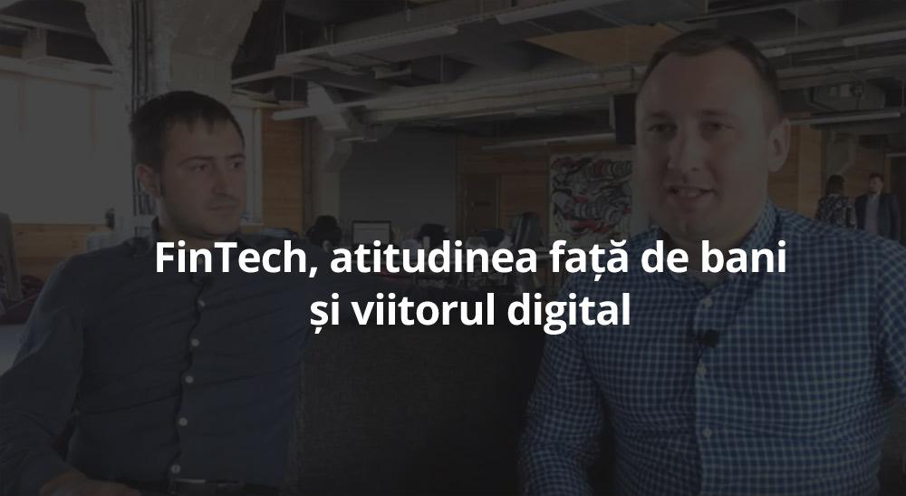 Tudor Darie: Start-upul despre FinTech, milionul și cărțile preferate
