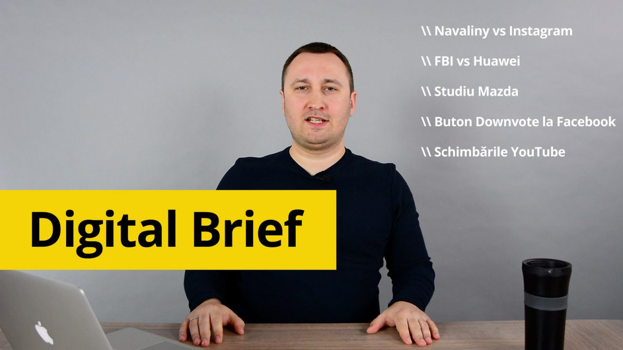 Brief Digital: FBI luptă cu Huawei, Navalny vs Instagram și marea demonetizare YouTube