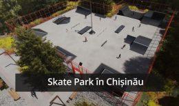 FOTO: Teren de sport și SkatePark în sectorul Botanica al Capitalei