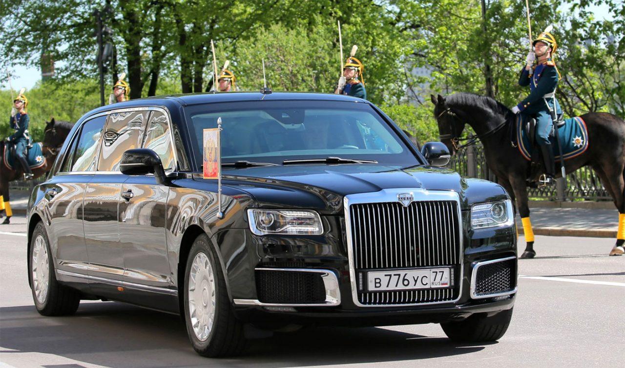 Aurus – noua mașină prezidențială rusească! Inspirație pentru Rolls Royce?