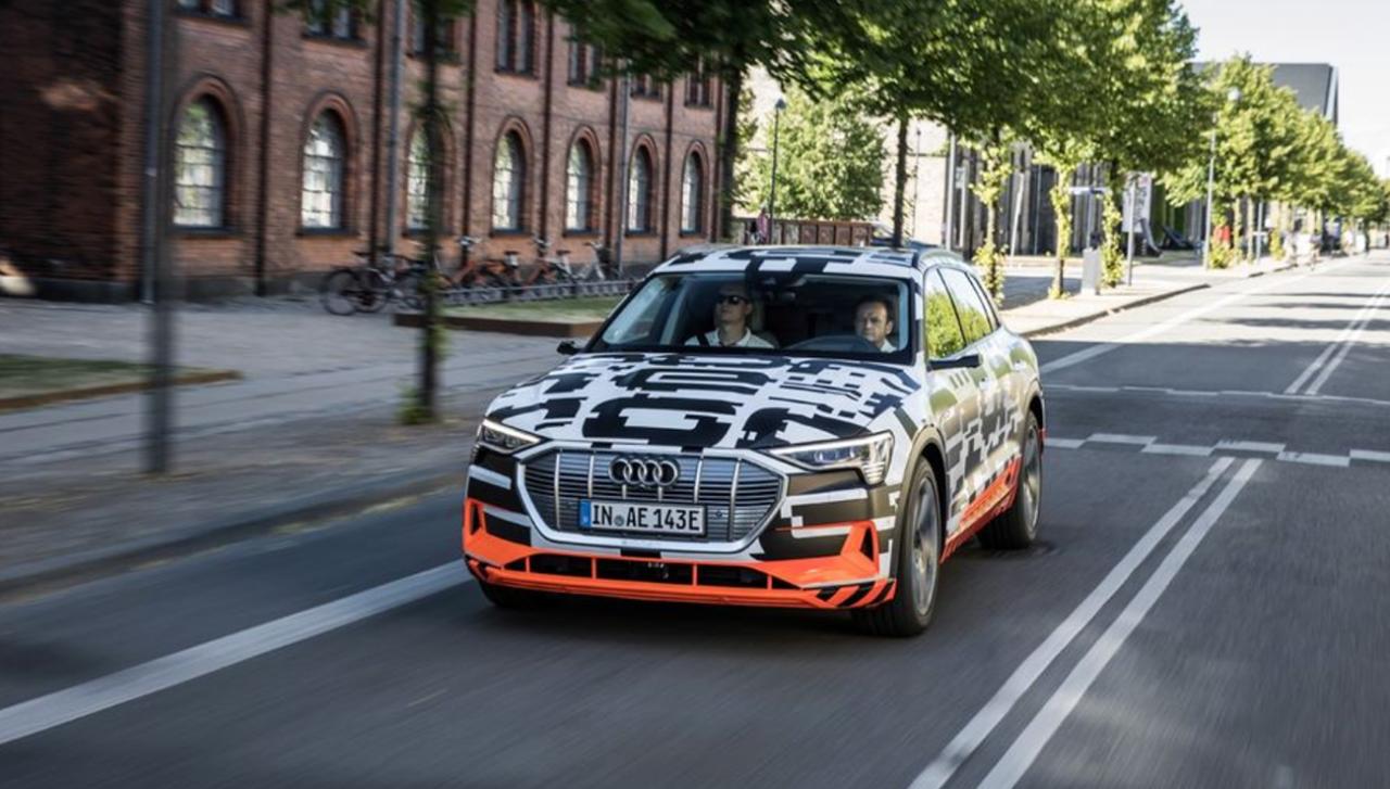 Audi lansează primul concurent serios pentru Tesla: Modelul e-tron