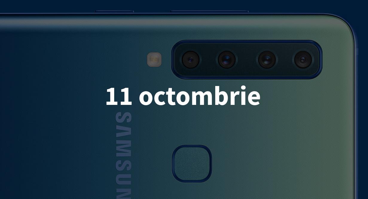 Scurt pe doi, 11 octombrie: Samsung prezintă primul telefon cu 4 camere