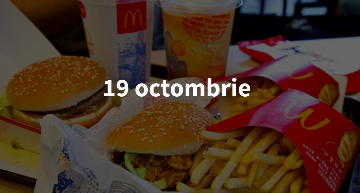 Scurt pe doi, 19 octombrie: Sexul neutru, testul de la McDonalds și sursa banilor pentru TV-urile lui Șor