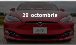 Scurt pe doi, 29 octombrie: Tesla în România, curățenia de la Spitalul nr. 1 și criză la Sberbank