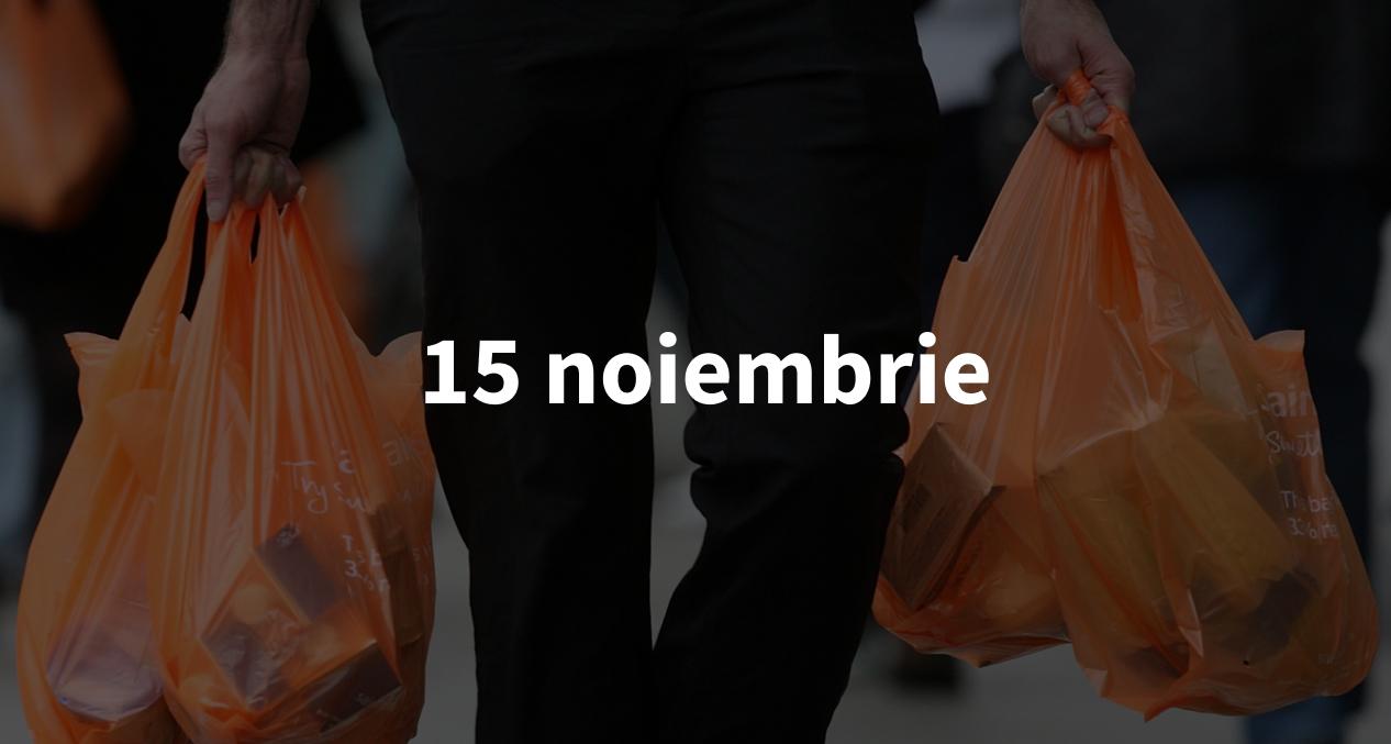 Scurt pe doi, 15 noiembrie: Un nou scandal legat de Facebook și cum renunță supermarketurile din Chișinău la pungile de plastic