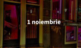 Scurt pe doi, 1 noiembrie: Cartierul Roșu ar putea fi mutat și al treilea restaurant moldovenesc din Japonia