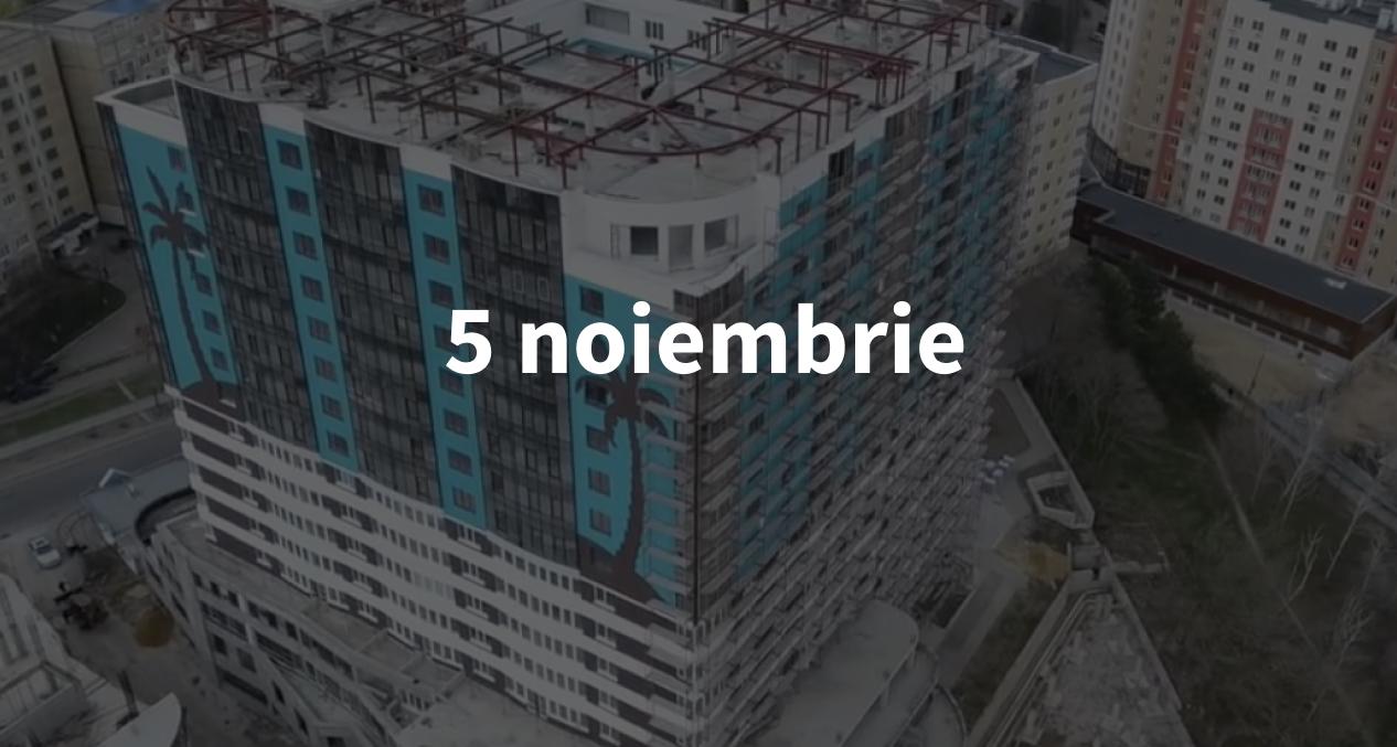 """Scurt pe doi, 5 noiembrie: Istoria complexului """"Palmieri și Stele"""" din Chișinău și cum eviți burnout-ul"""