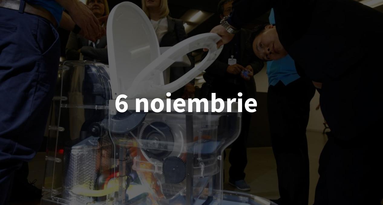 Scurt pe doi, 6 noiembrie: WC-ul fără apă al lui Bill Gates și unde a ajuns în Cosmos Tesla lui Musk