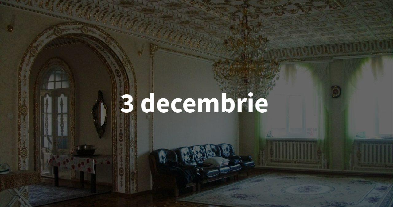 Sinteza zilei, 3 decembrie: Vecina lui Filip, amendamentul ascuns și întâlnirea lui Trump cu producătorii germani