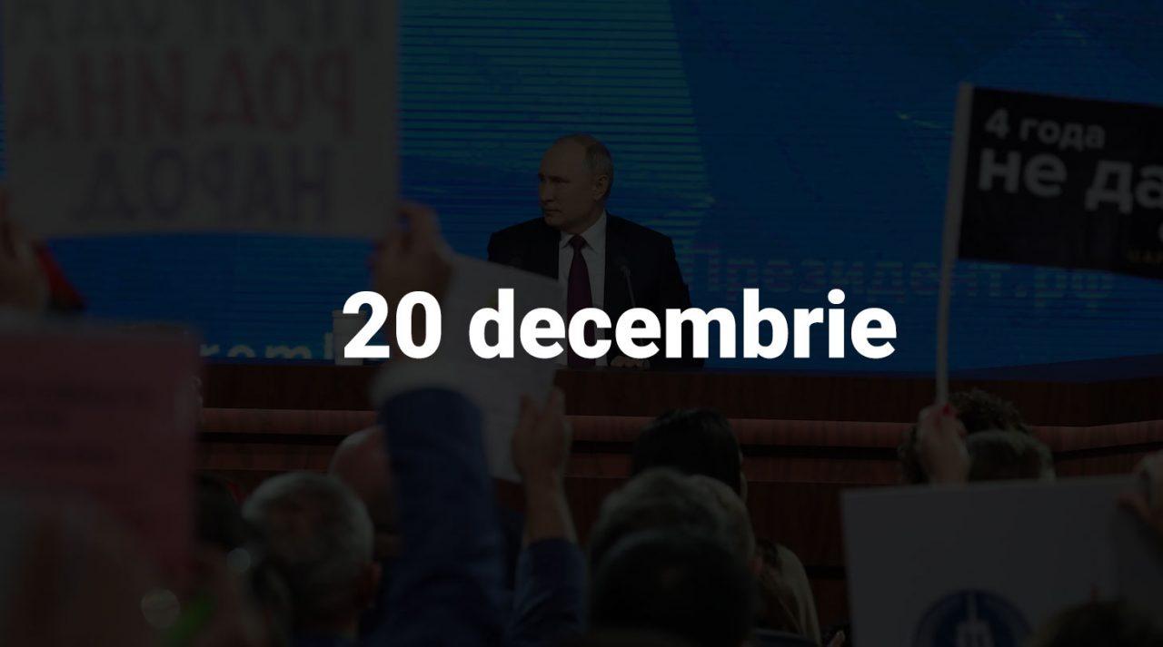 Scurt pe doi, 20 decembrie: 1 mln pentru cluburi, puterea lui Dodon, planul 2024 al Opel și caravana sovietică