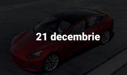 Scurt pe doi, 21 Decembrie: Anticipatele din 2019, Fiscul și conturile noastre bancare, statistica Tesla și racheta rusească