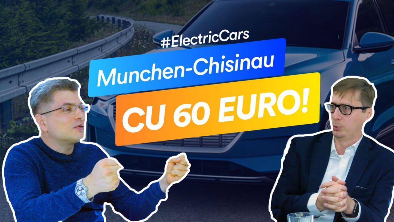 Maraton cu mașini electrice: Curiozități despre Audi e-tron și Jaguar i-Pace pe cursa Chișinău – Munchen