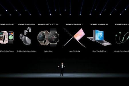 Huawei anunță 6 noi dispozitive ce întregesc ecosistemul de produse