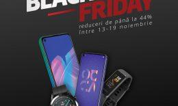 Huawei anunță o serie de oferte speciale de Black Friday pe piața din Republica Moldova: Discount-uri de până la 44% pentru dispozitive importante din portofoliu